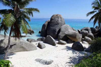 Insel Mahe Seychellen
